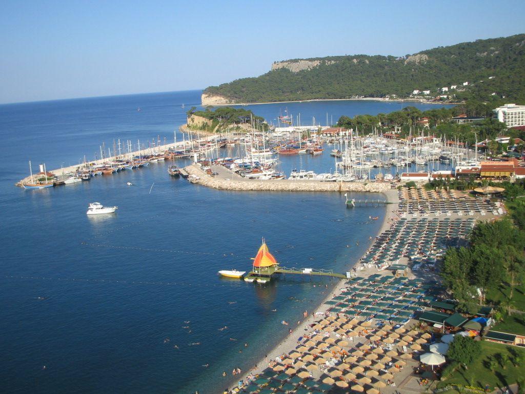 Portul din Kemer - Turcia