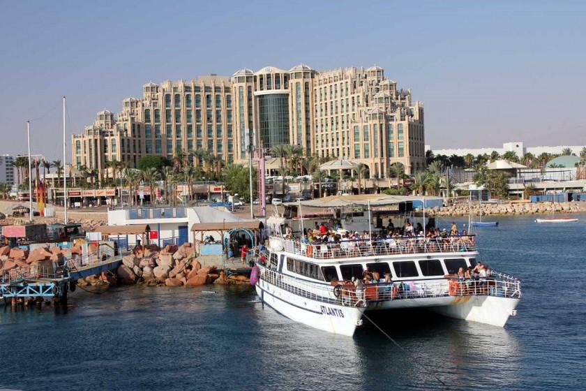 Vedere din portul Eilat