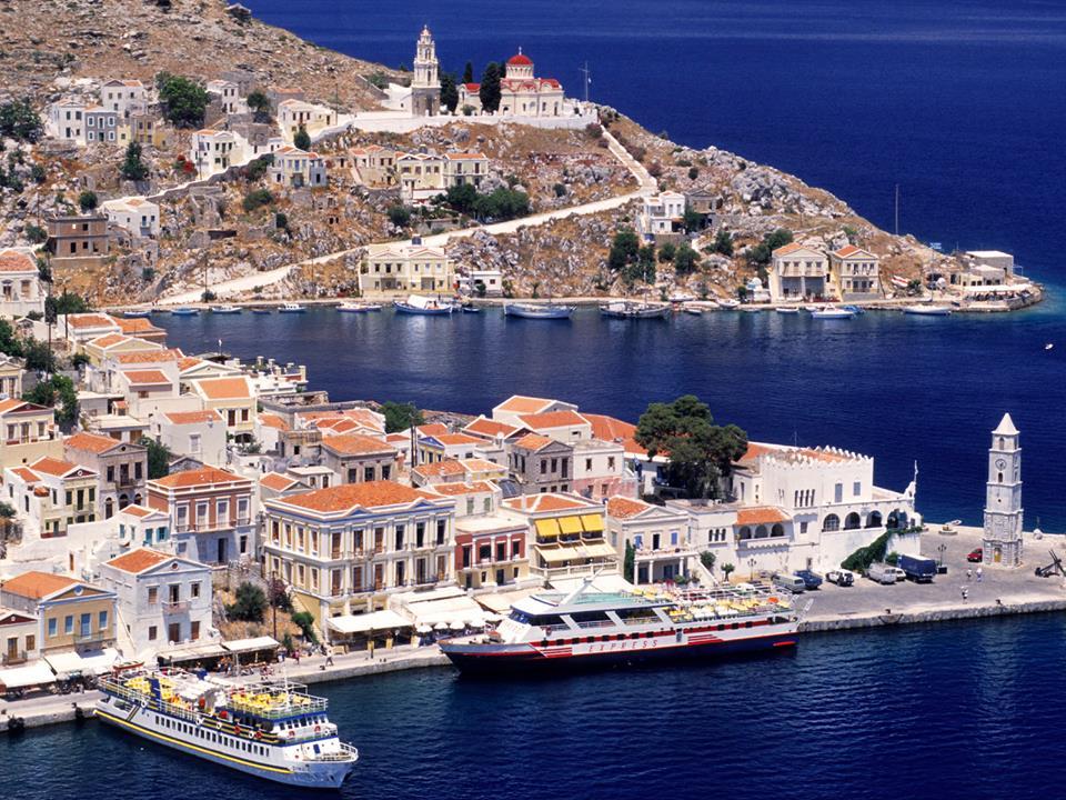 Insula Symi - un Portofino al Greciei