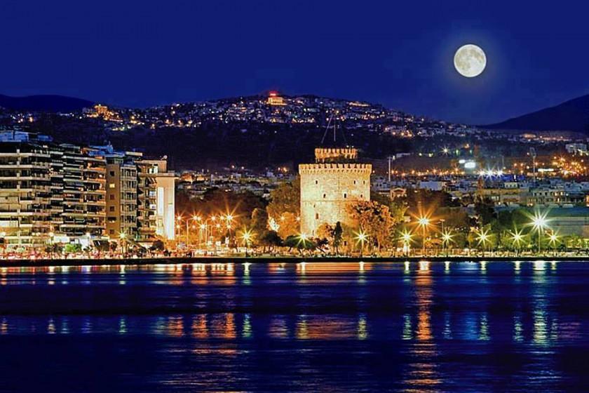 Turnul Alb, Salonic