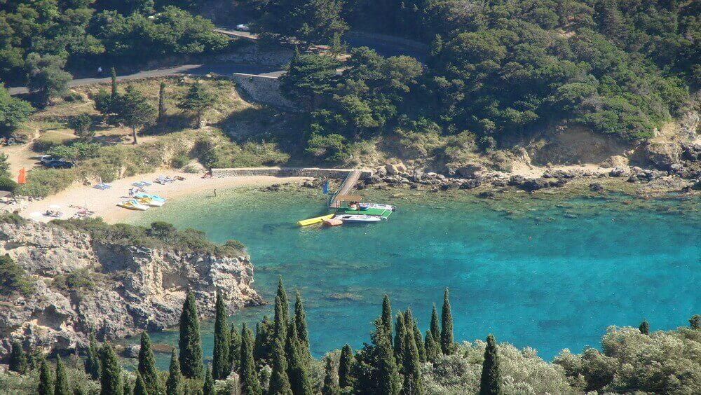Agios Petros Beach - Paleokastritsa, Corfu
