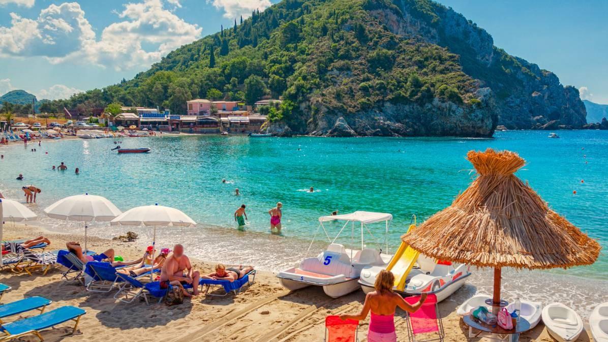 Agios Spyridon Beach - Paleokastritsa