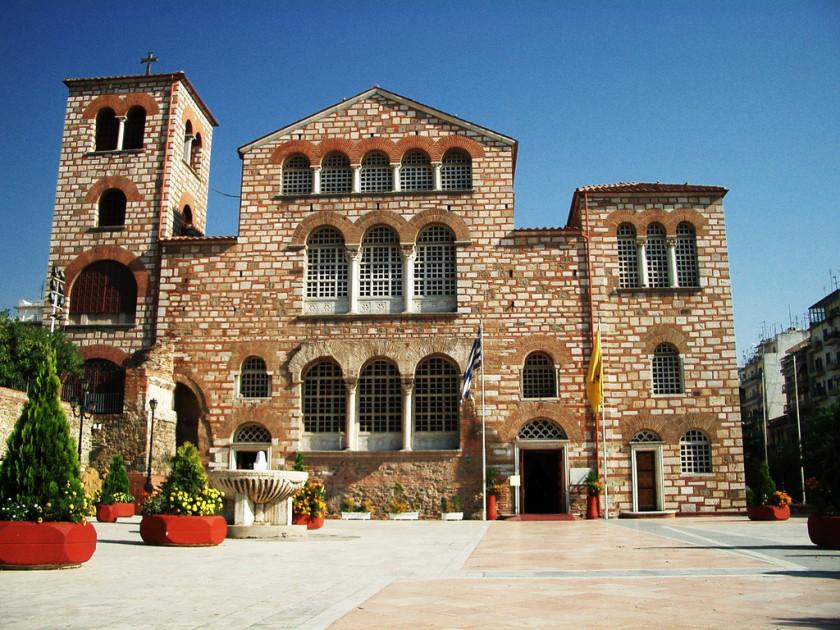 Biserica Agios Dimitrios - Salonic