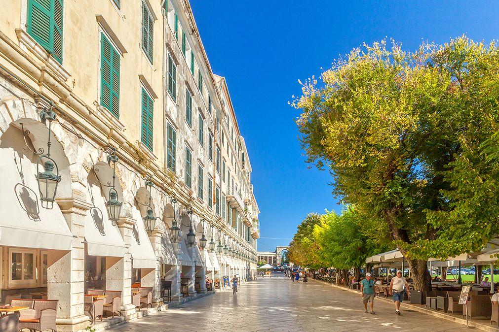 Corfu - Liston