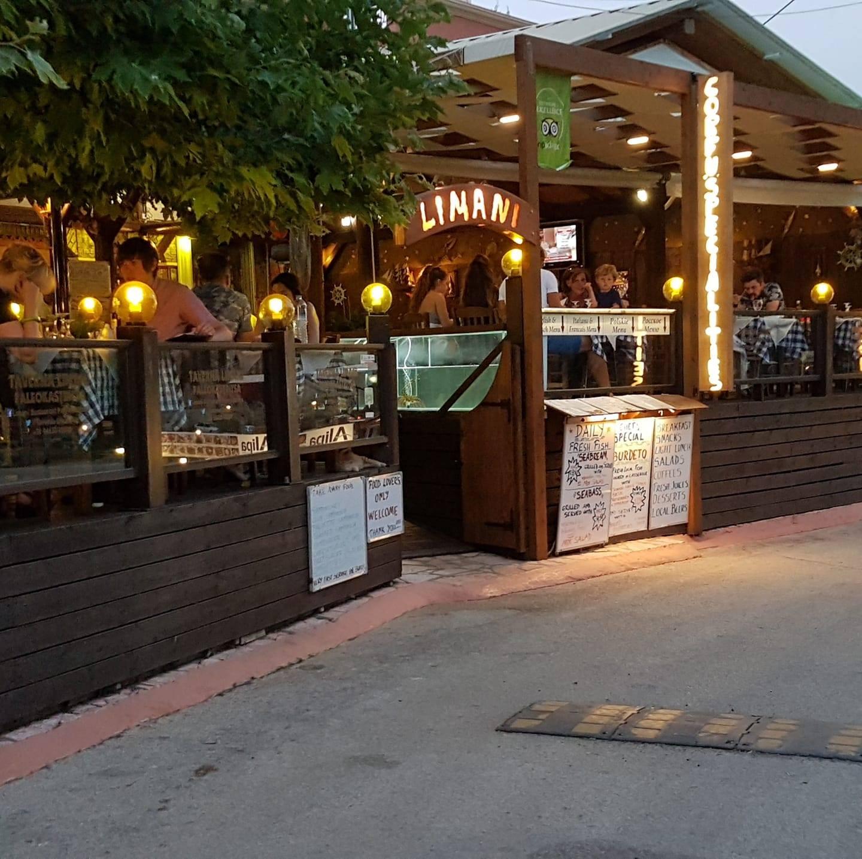 Limani Restaurant - Paleokastritsa, Corfu