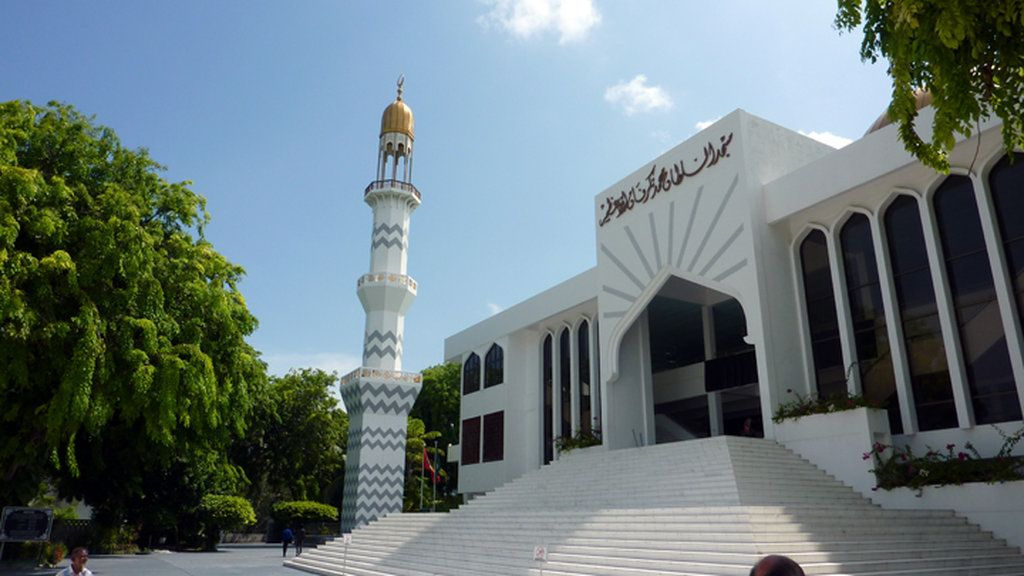 Moscheea din Male - Maldives