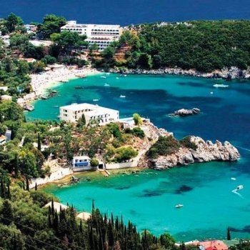 Paleokastritsa, insula Corfu