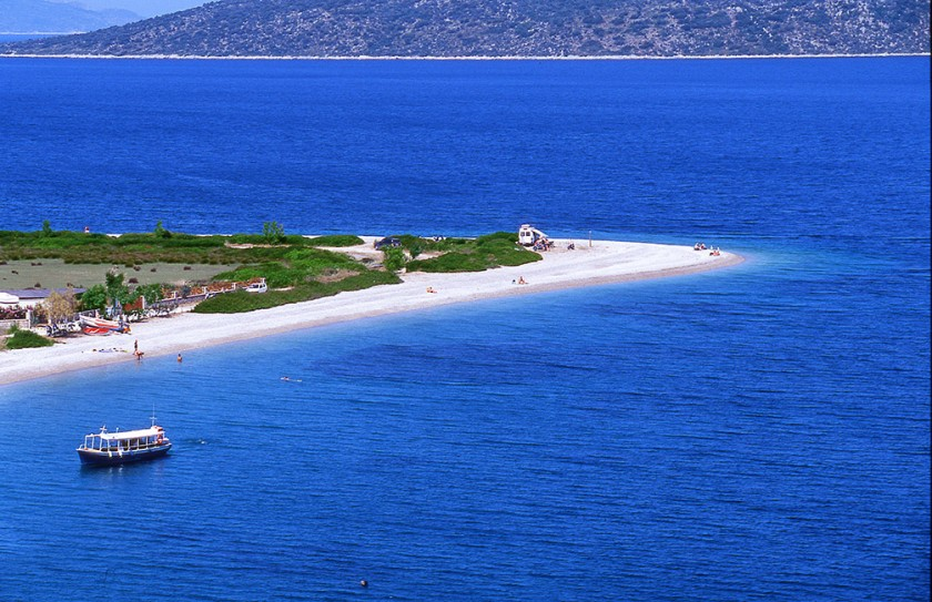 Plaja Agios Dimitros - Alonissos, Grecia