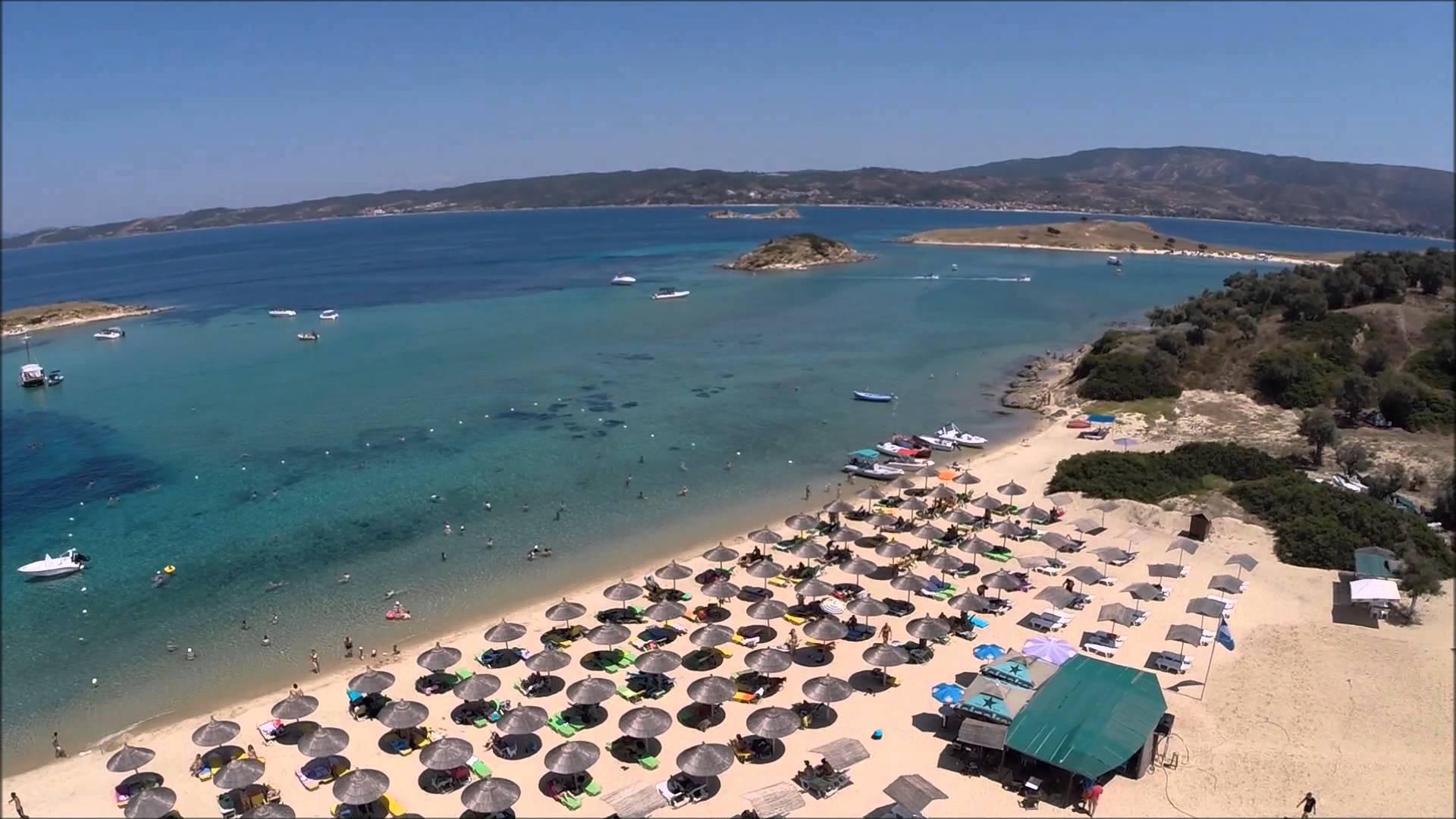 Plaja Drenia - Halkidiki, Grecia