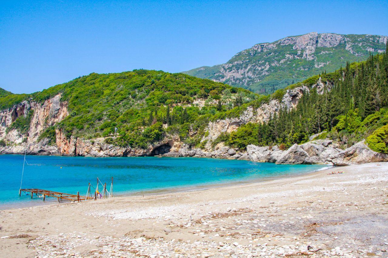 Plaja Liapades - Paleokastritsa, Corfu