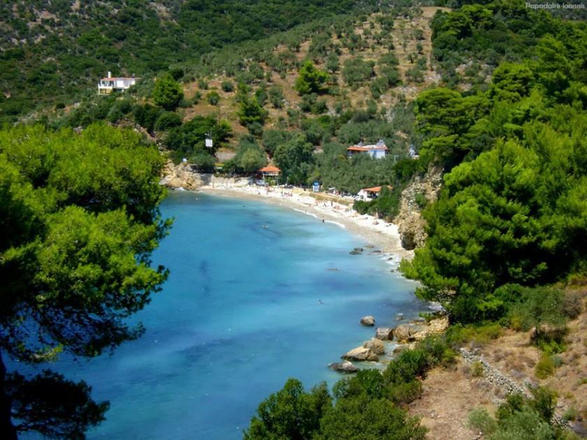Plaja Megalos Mourtias - insula Alonissos