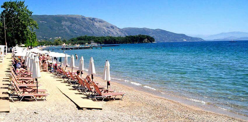 Plaja din Dassia - Corfu