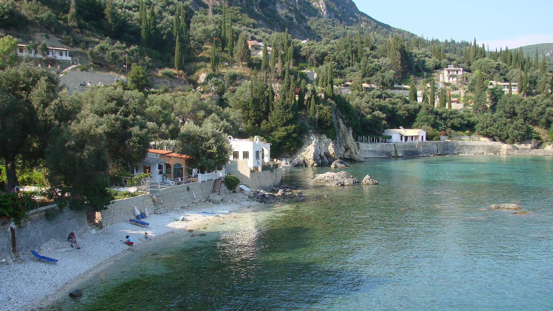 Platakia Beach - Paleokastritsa, corfu