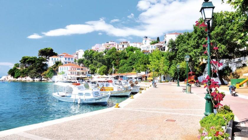 Skiathos Town, Grecia