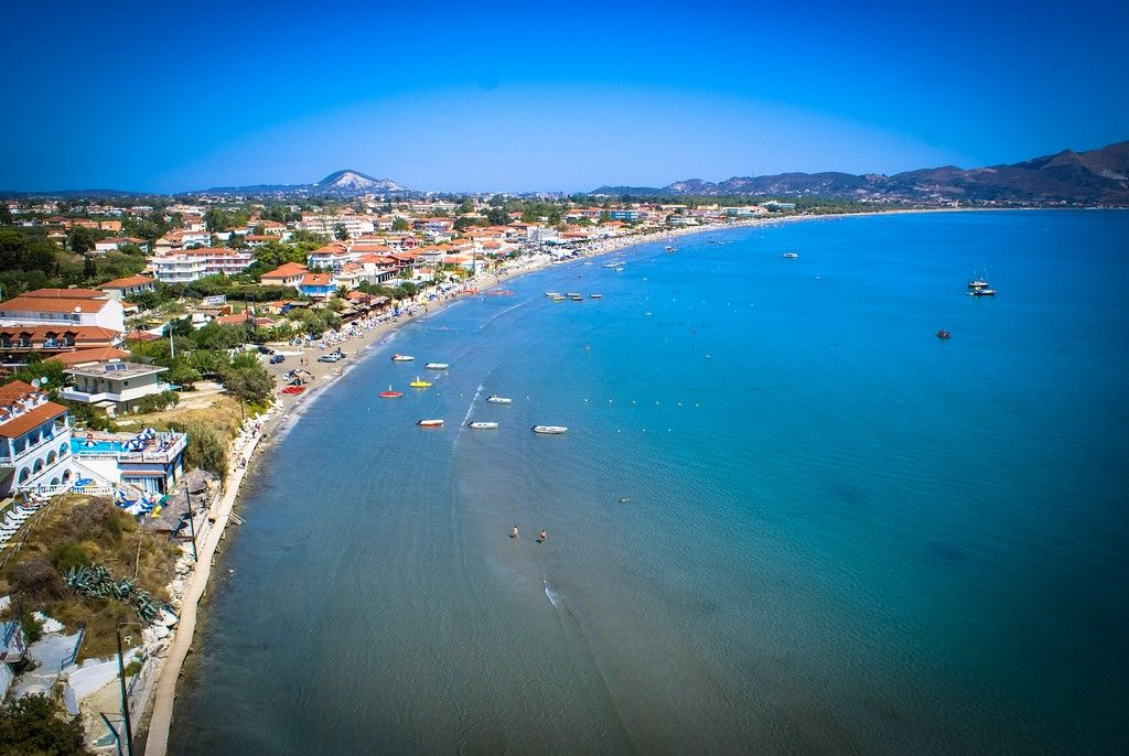 Statiunea Laganas - insula Zakynthos