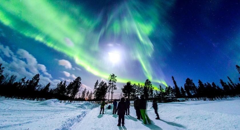 Aurora Boreala - Laponia