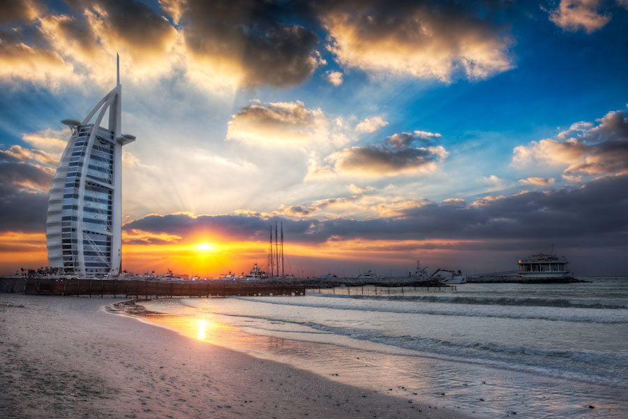 Jumeirah Burj Al Arab Open Beach