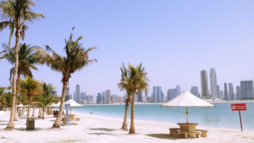 Plaja Al Mamzar Beach Park, Dubai