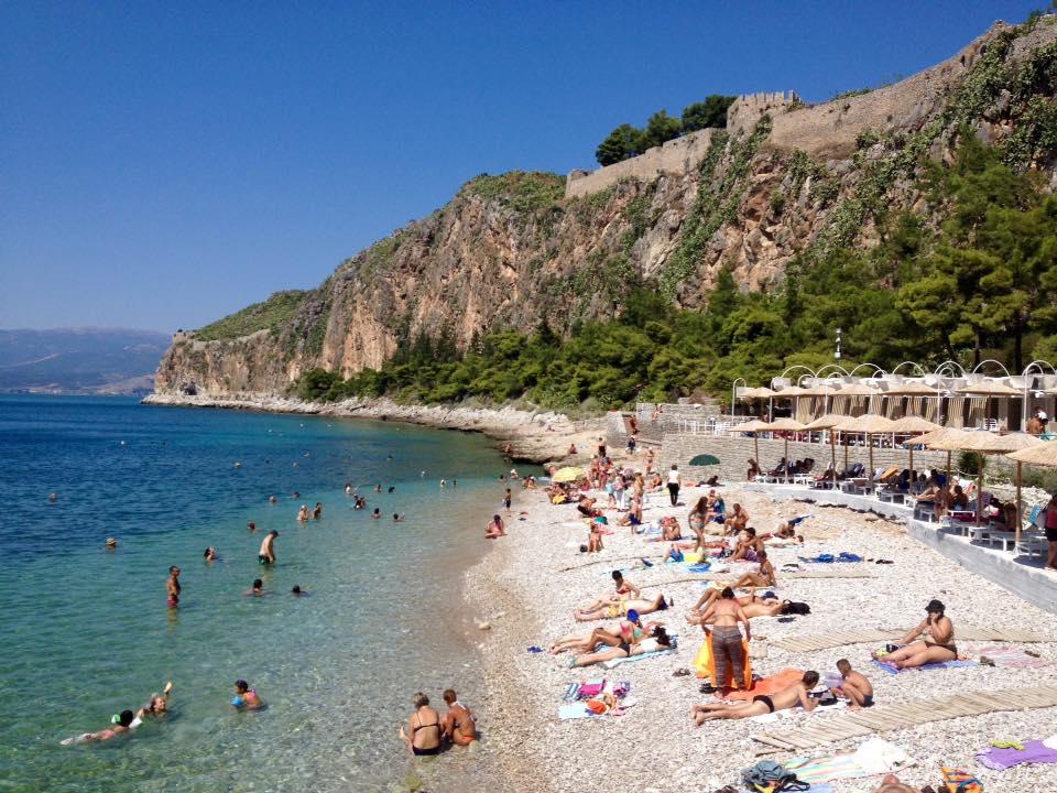 Plaja Arvanitia - Nafplio