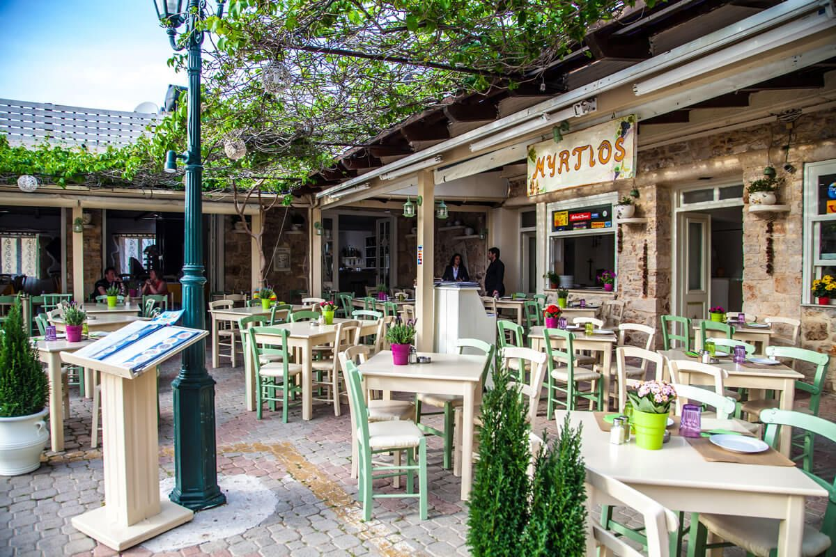Taverna Myrtios - Hersonissos, Creta