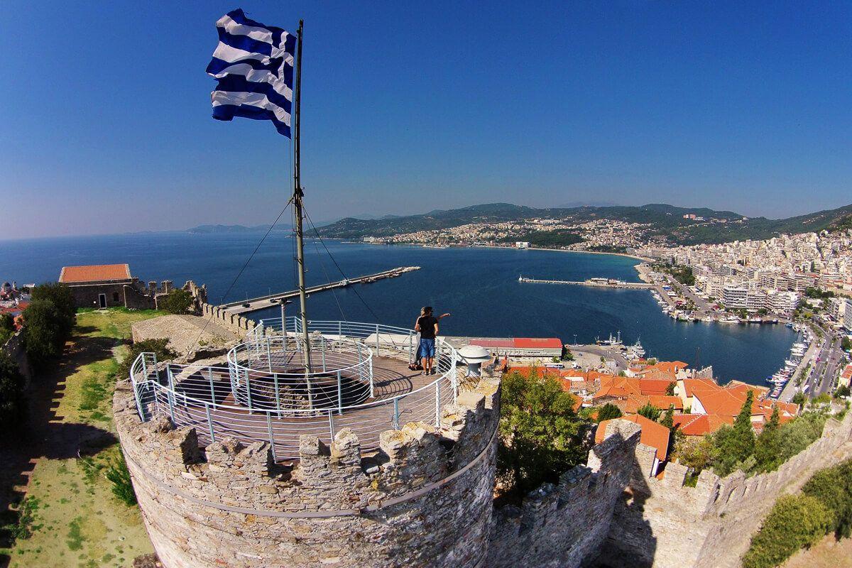 Castelul bizantin din Kavala