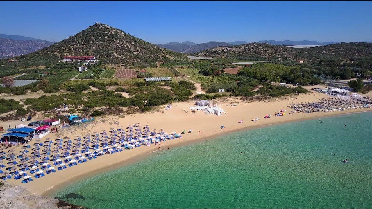 Plaja Ammolofoi - Kavala, Grecia