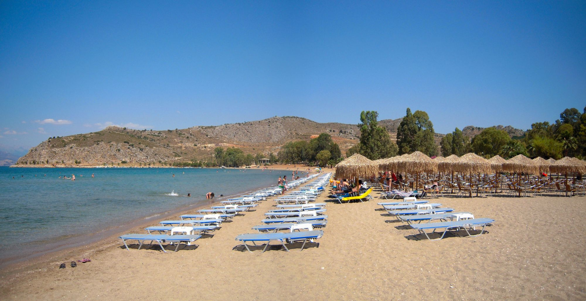 Plaja Karathona - Nafplio, Grecia
