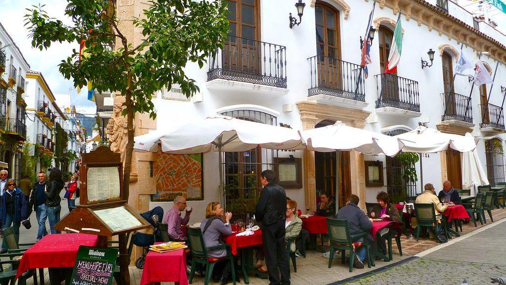 Restaurant in Marbella - orasul vechi