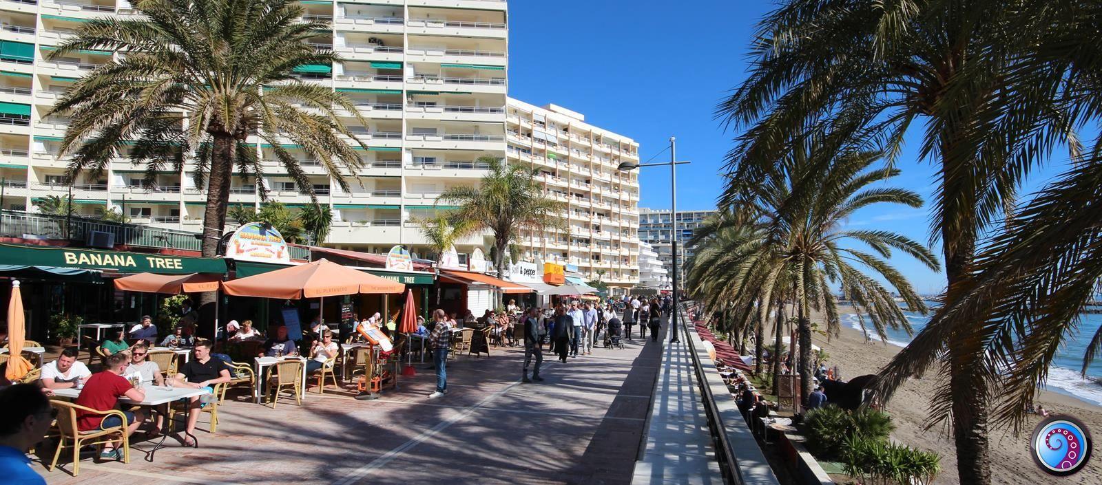 Restaurante si tapas - faleza din Marbella