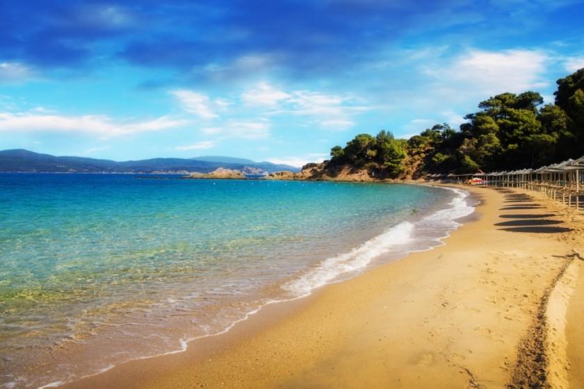 Banana Beach - Skiathos, Grecia