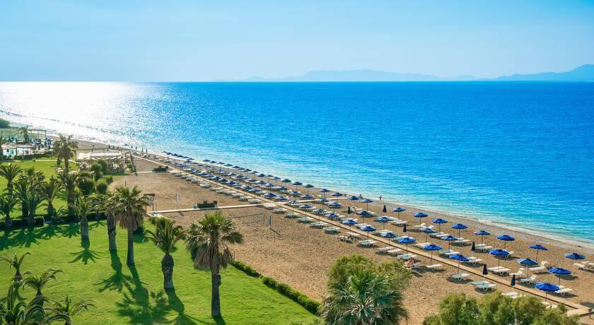 Plaja in Ialyssos - Rhodos