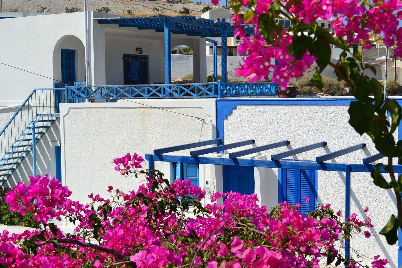 Arhitectura cycladica - Santorini
