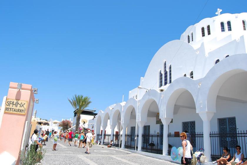 Catedrala ortodoxa Ypapanti - Santorini
