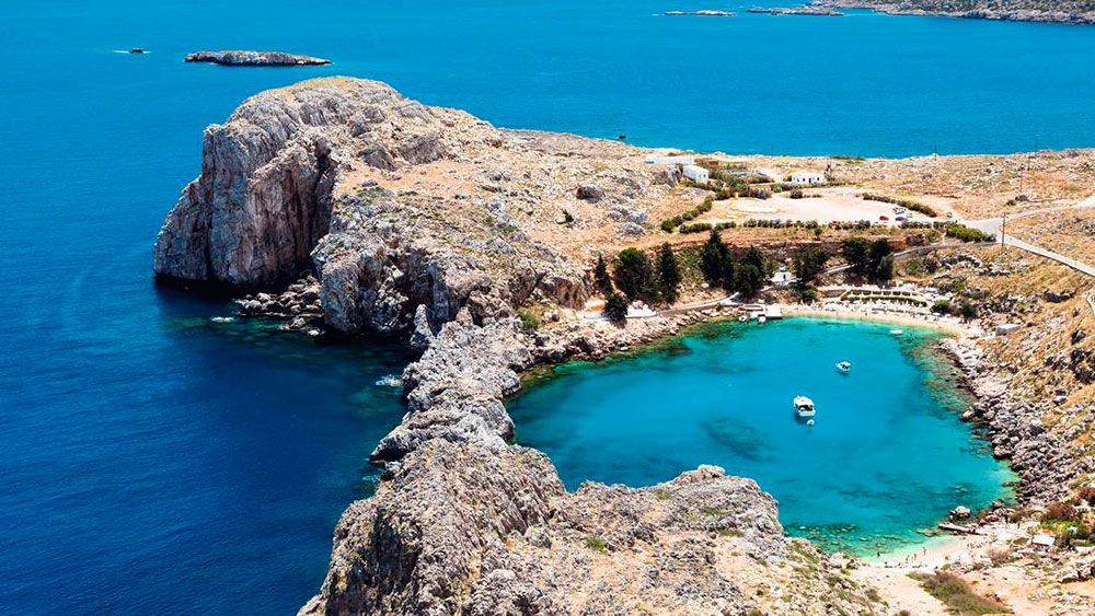 Plaja Agios Pavlos - Rhodos