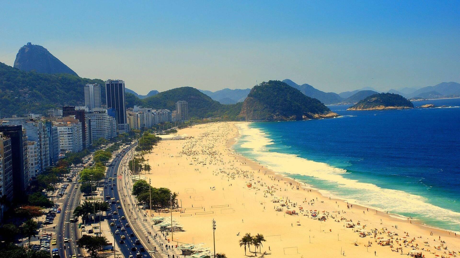Plaja Copacabana - Rio de Janeiro
