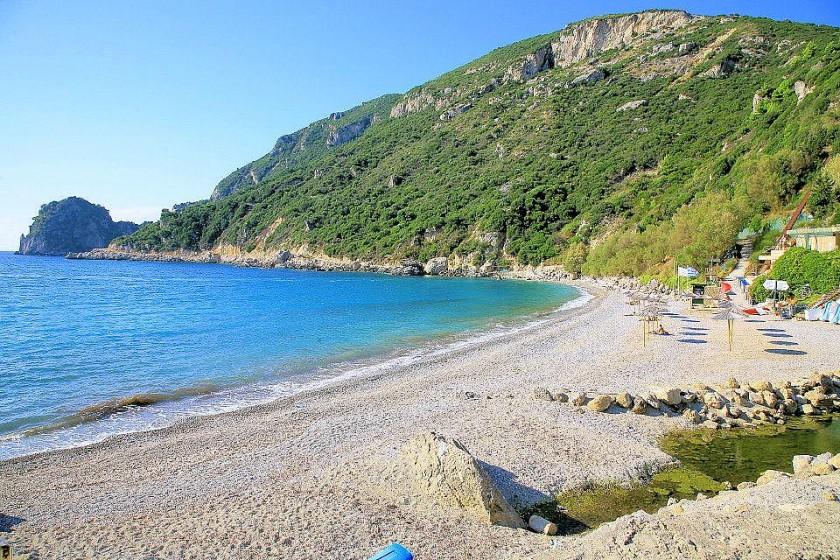 Plaja Ermones - Corfu