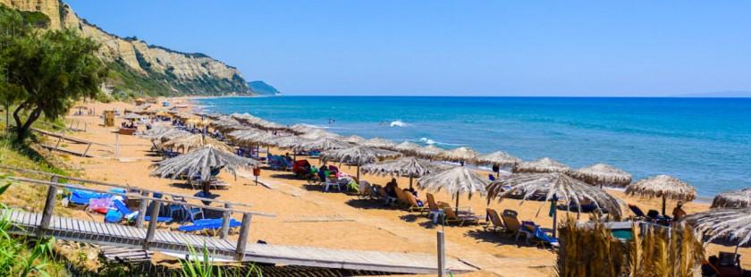 Plaja Gardeno - Corfu, Grecia
