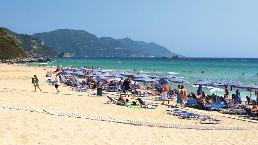 Plaja Glyfada - Corfu