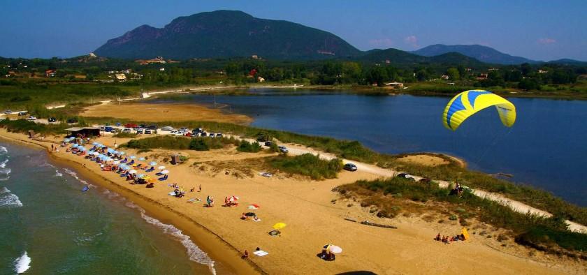 Plaja Halikounas - Corfu