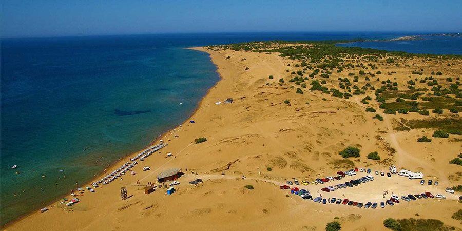 Plaja Issos - insula Corfu