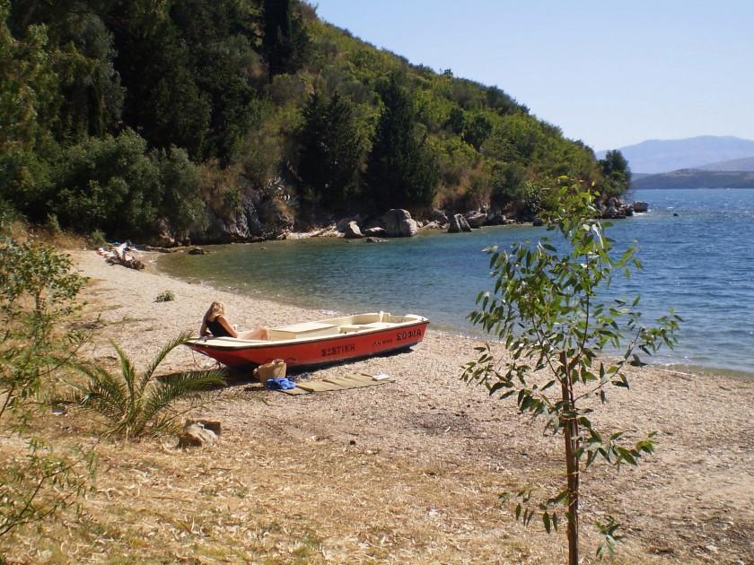 Plaja Kouloura - Corfu