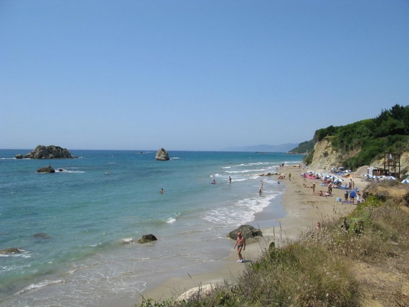 Plaja Prasoudi - Corfu