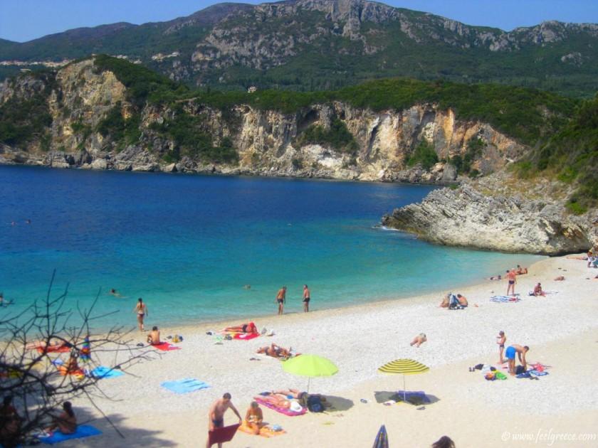 Plaja Rovinia - Corfu