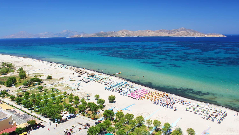 Plaja Tigaki - insula Kos