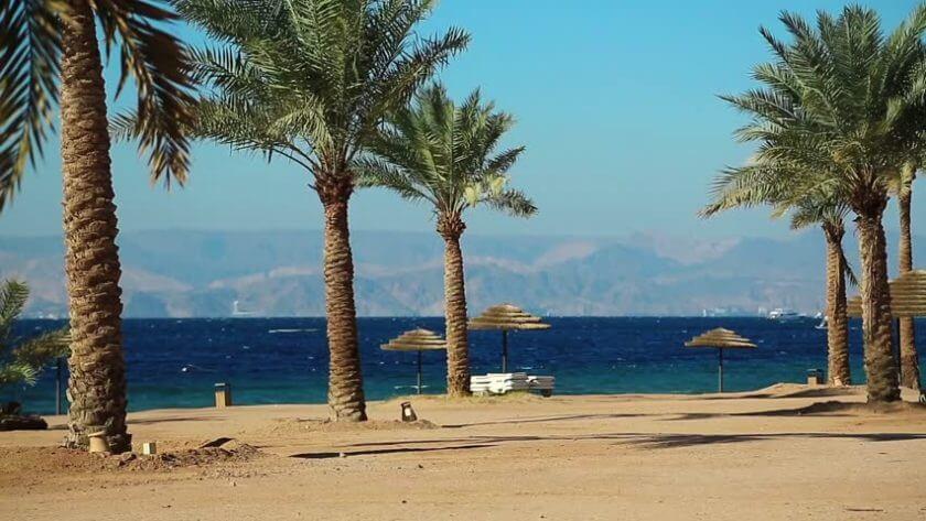 Plaja in Aqaba - Iordania