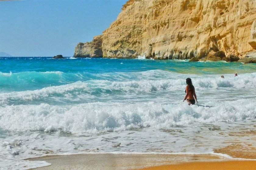 Red Beach - Matala, Creta