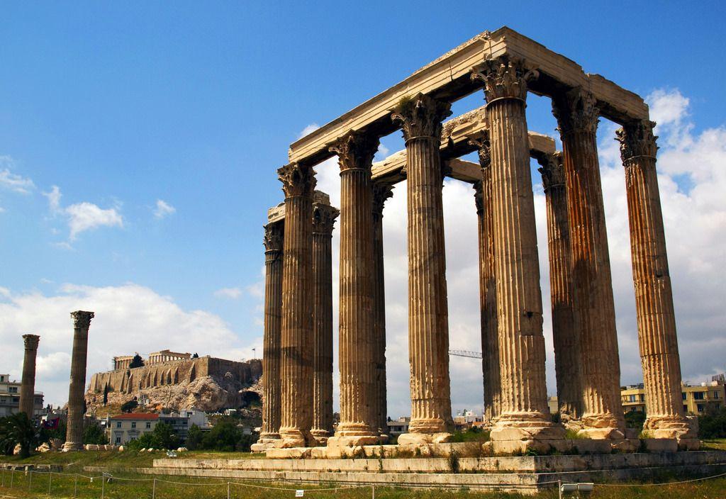 Templul lui Zeus - Atena