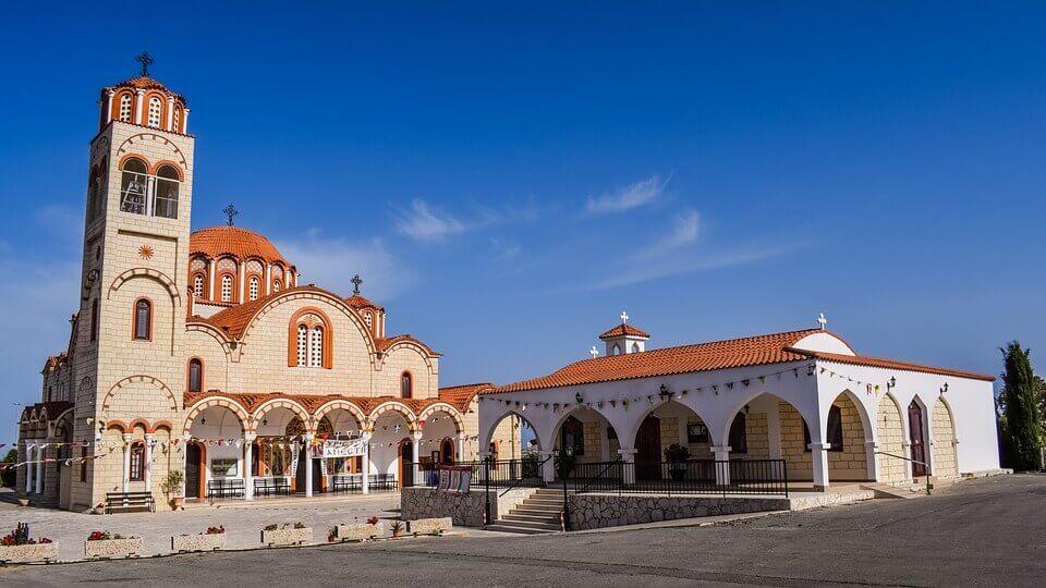 Biserica Agia Varvara - Paralimni, Cipru