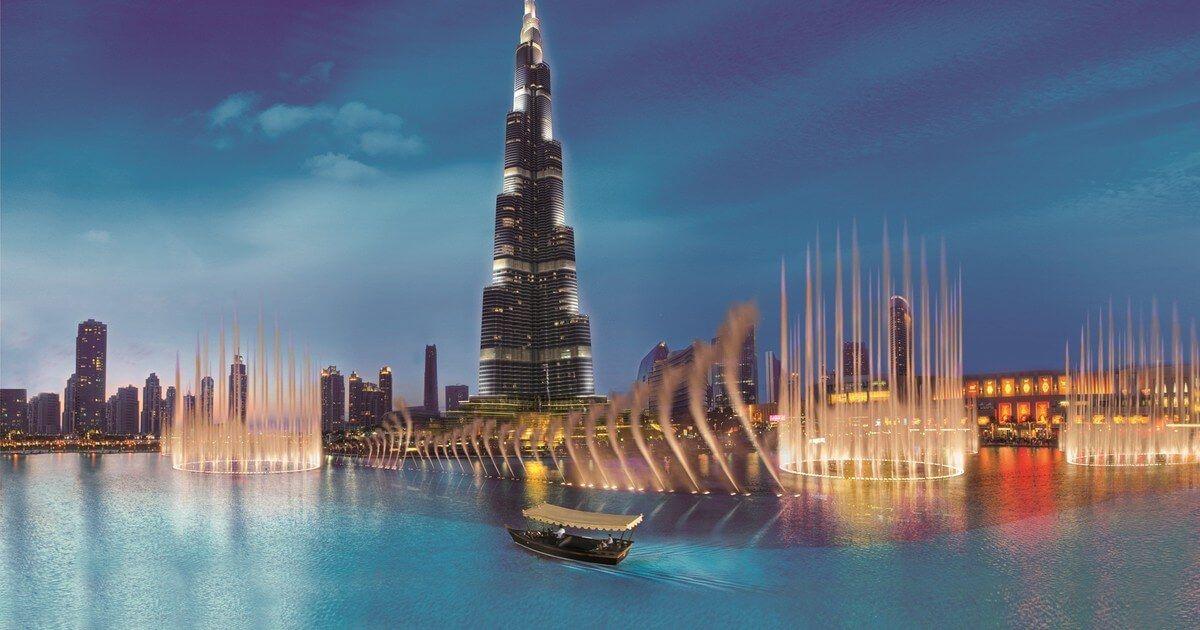 Burj Khalifa - Dubai (noaptea)