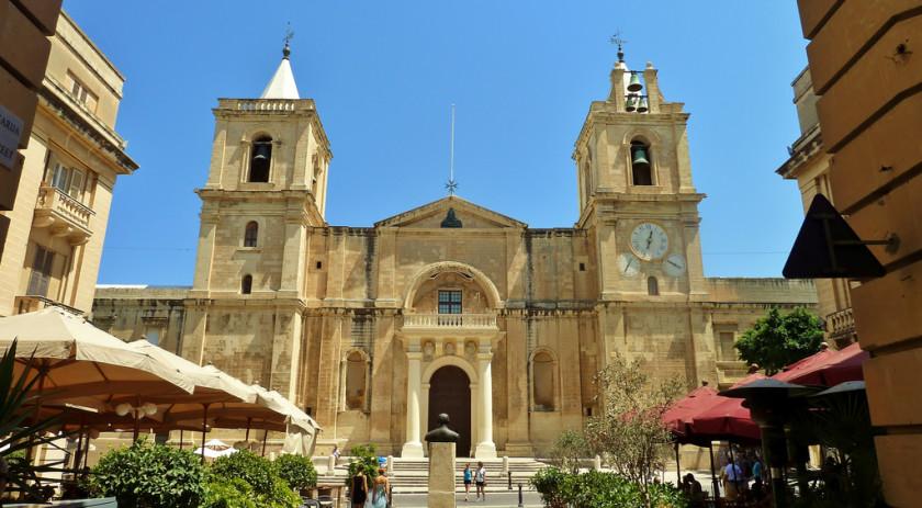 Catedrala Sf Ioan - La Valletta, Malta